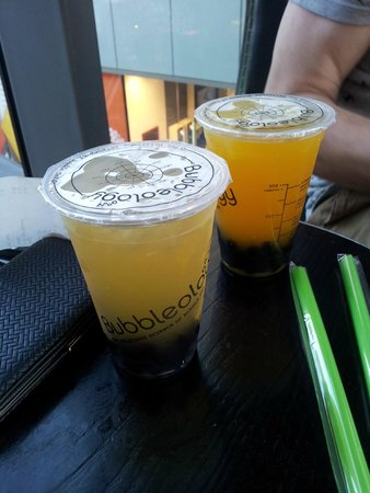 Bubbleology: Jasmine and Mango teas