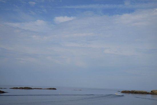 Sogndalstrand Kulturhotell: The Atlantic ocean