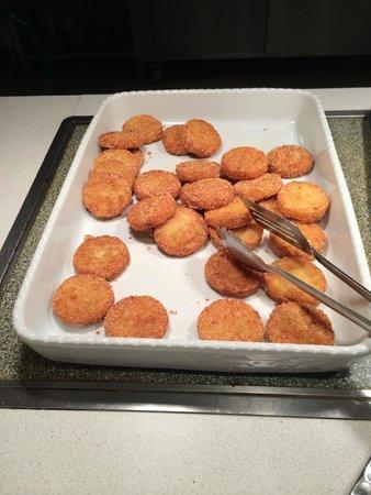 PortAventura Hotel PortAventura: Очень вкусные картофельные оладьи