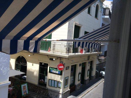 Hotel Galeón: вид из окна