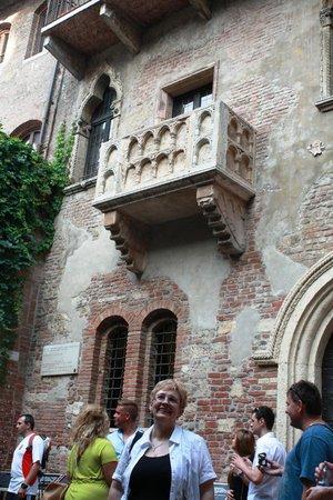 Montresor Hotel Palace: Giullietta's balcony
