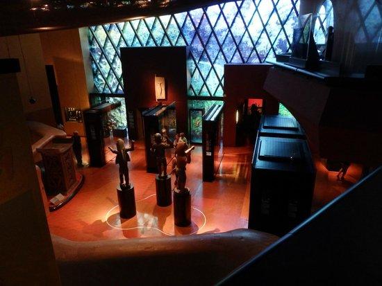 Musée du quai Branly - Jacques Chirac : vue générale intérieure