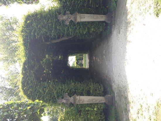 Hofgarten Veitshochheim : Jardín