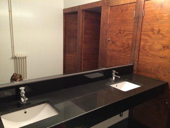 Hotel Galeon: туалет в лобби