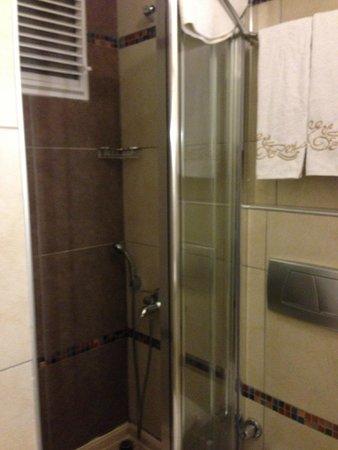 Hotel Evsen: small bathroom