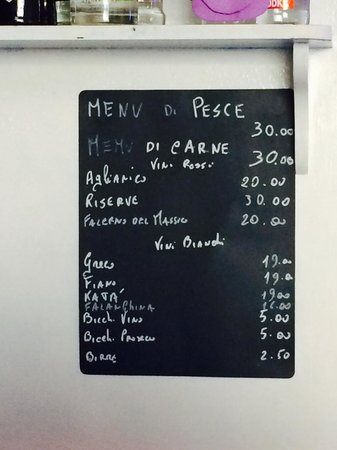 Vivaro Wine Bar: The complicated Menu.......