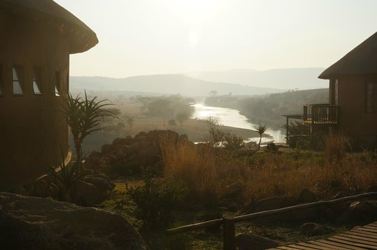 Rorke's Drift Hotel: Lovely location