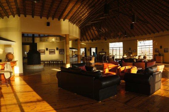 Rorke's Drift Hotel: Dining/Bar area