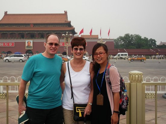 Beijing Private Guide--Skye : Joe, Kim and Skye