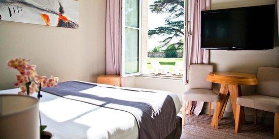Hotel du Chateau : Chambre Deluxe : Vue Parc