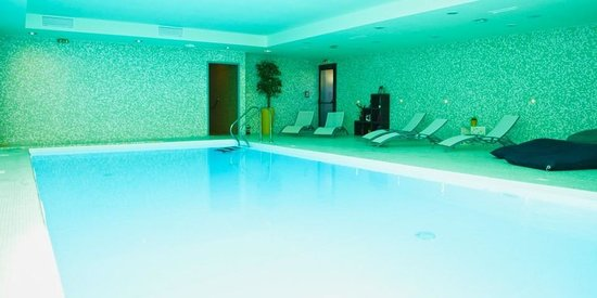 Hotel du Chateau : Espace Détente : Piscine Intérieure