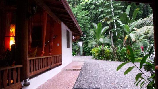 Casa Moabi: Entrée