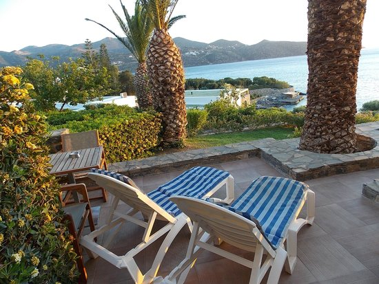 Sensimar Minos Palace - Adults Only : A room with a view...