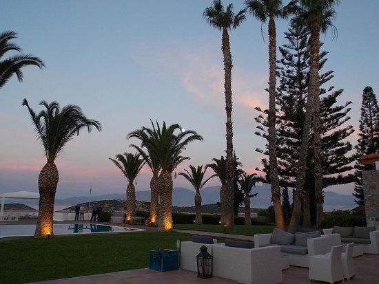 Sensimar Minos Palace - Adults Only : Our last night at Sensimar Minos Palace. :(
