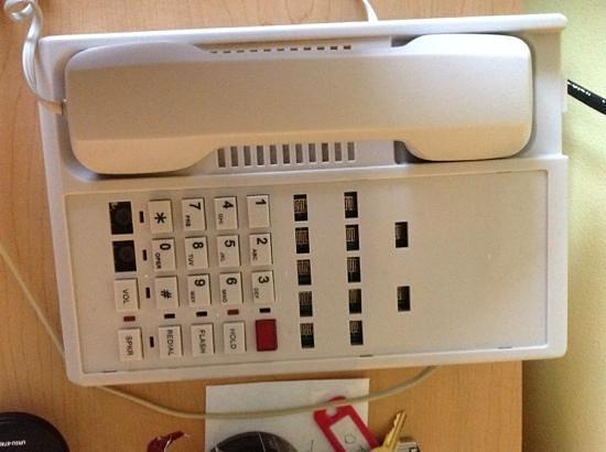 The Grand Beach Inn: phone