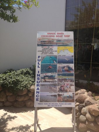 Baba Hotel: Hotel also offers affordable boat trips, which include insurance, full buffet, wine and drinks