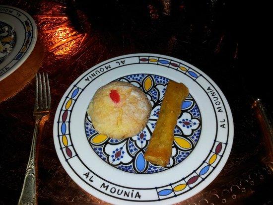 Al-Mounia: Pasta de coco y holaldre