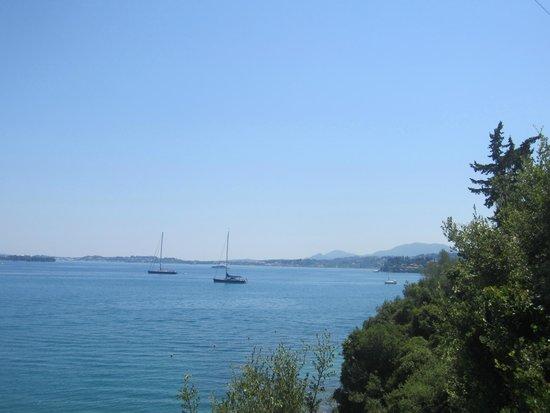 Grecotel Corfu Imperial: vue de la chambre