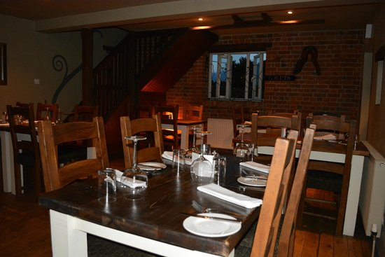 Steppes Farm : Restaurant The Stone Mill