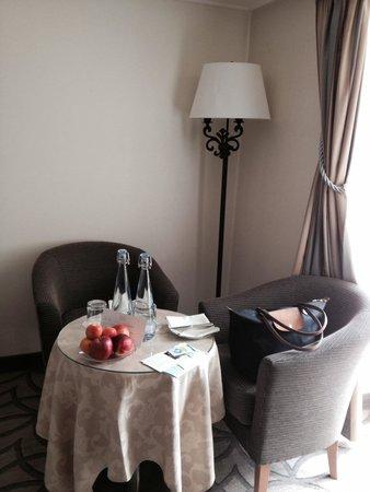 Hotel Les Sources des Alpes : Room