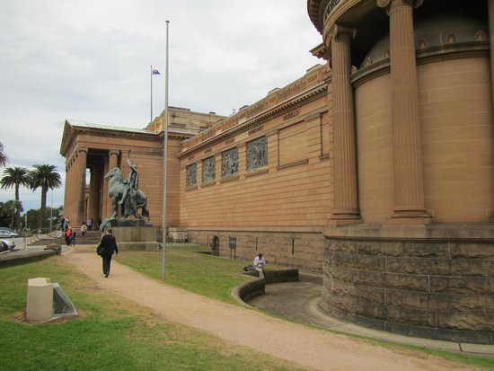 Galerie d'art de Nouvelle-Galles du Sud : Front right of the Art Gallery of NSW