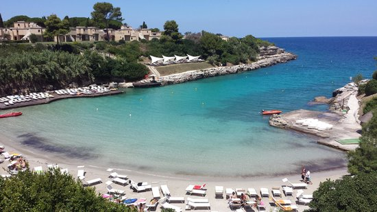 Le Cale d'Otranto Beach Resort : la spiaggia