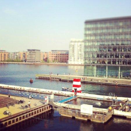 Copenhagen Island Hotel: View from balcony
