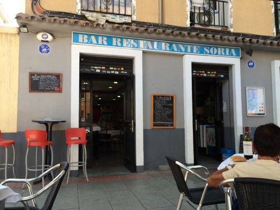 imagen Restaurante Soria en Madrid