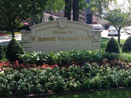 Washington Marriott Wardman Park: Beautiful landscape