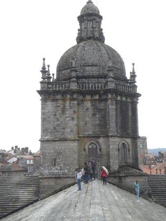 Cathédrale de Saint-Jacques-de-Compostelle : Tejado de la catedral