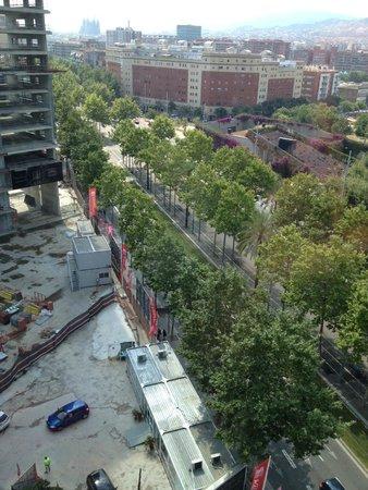 Meliã Barcelona Sky: vue panoramique