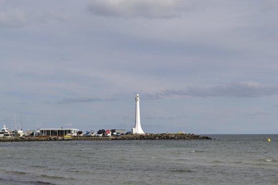 St. Kilda Beach: view