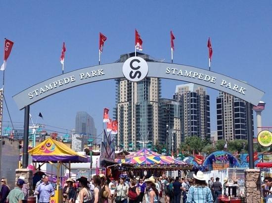 Calgary Stampede: Stampede Park arch