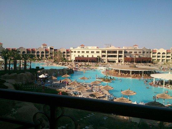 Tirana Aqua Park Resort: View from 2323