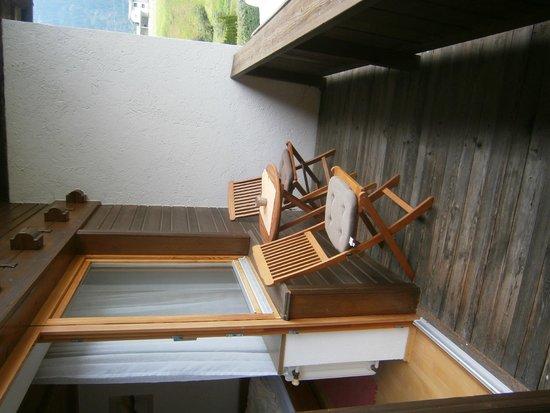 Appartment Bergheim: Balcon de la chambre n°2