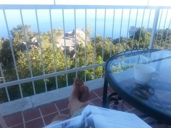 El Encinar Valldemossa Hotel: Altanudsigt
