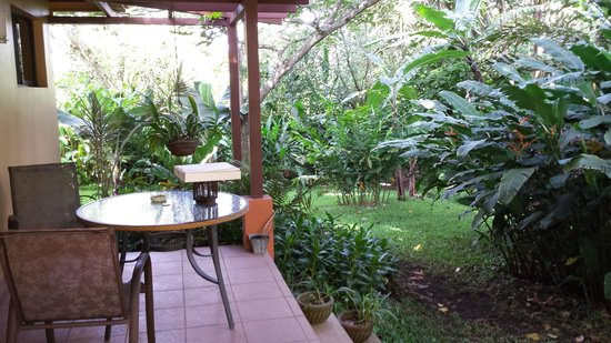 Tacacori EcoLodge : Terrasse
