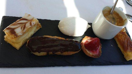 Restaurant L'Escale : Café gourmand