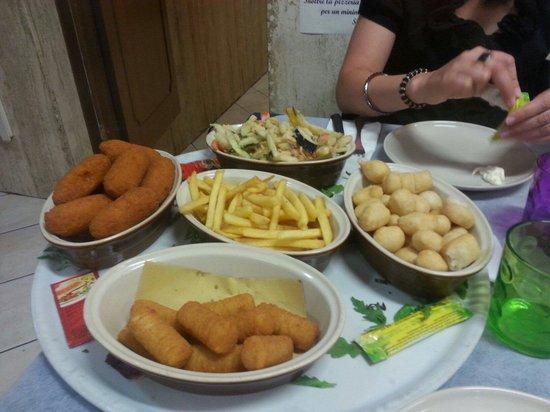 Agliana, Itálie: Antipasto dell'affamato