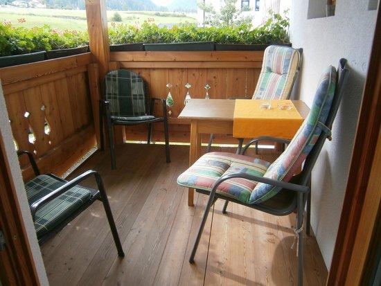 Appartment Bergheim: Balcon de la chambre n°1