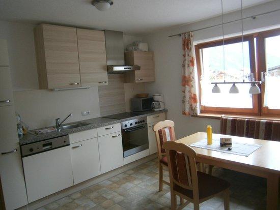 Appartment Bergheim: Cuisine salle à manger