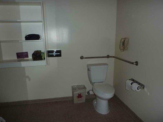 Kawada Hotel: Viel Platz im WC