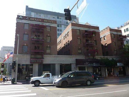 Kawada Hotel: Roter Backstein ist Kennzeichen