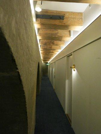 Copenhagen Admiral Hotel: The hallway