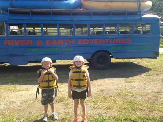 River and Earth Adventures, Inc: Ready to go!