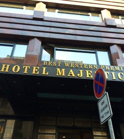 Hotel Majestic Plaza Prague: Exterior