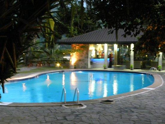 Hotel Thilanka: The pool