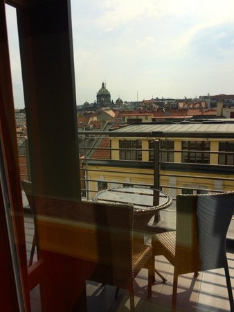 Hotel Majestic Plaza Prague: Terrace