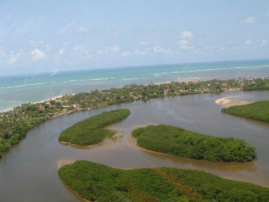 Japaratinga Beach : Dá para fazer um passeio nesse rio.