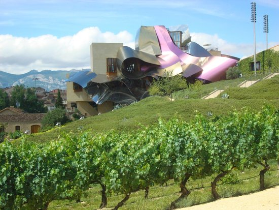 Bodegas Marques de Riscal: It's even more stunning in person!